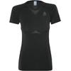 Odlo Performance Light Crew Neck SS Shirt Women black-odlo graphite grey